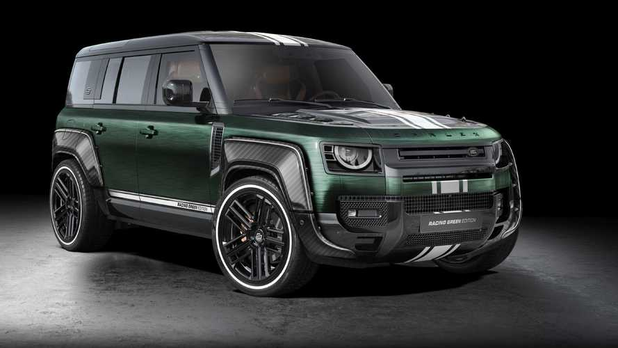 Land Rover Defender: Carlex Design lo reinterpreta a base de carbono