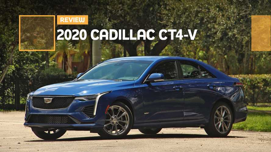 2020 Cadillac CT4-V Review: Small And Unmighty