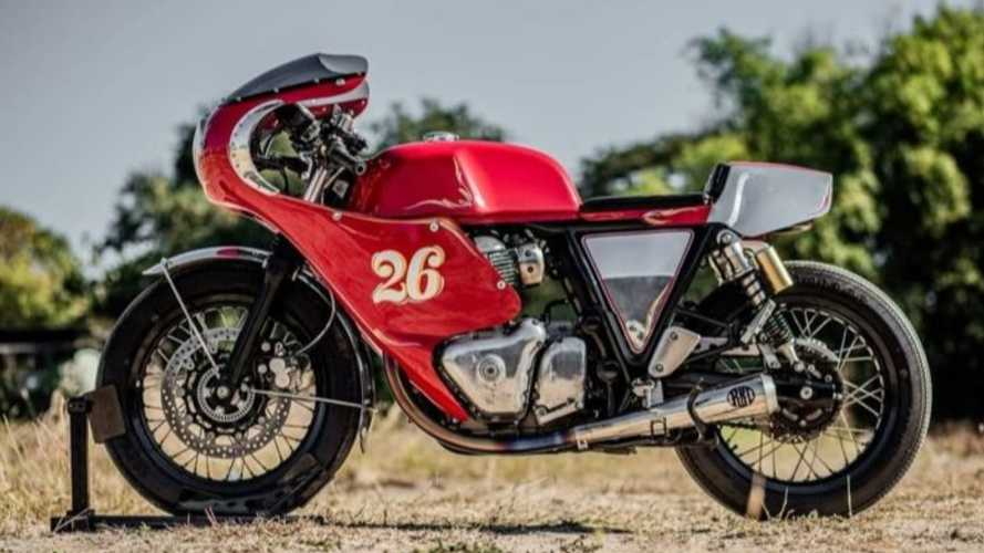 Retro Racer: Custom Royal Enfield Continental GT 650