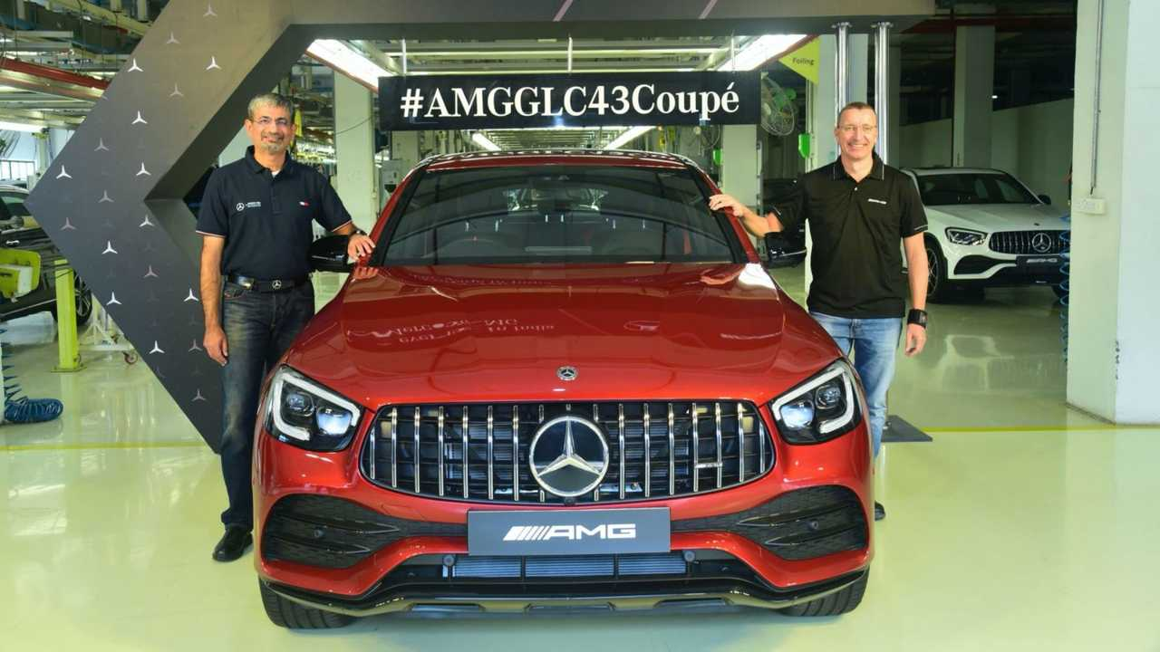 Mercedes-AMG GLC 43 4Matic - Índia