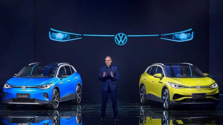 Volkswagen lança o SUV elétrico ID.4 em duas versões na China; veja fotos