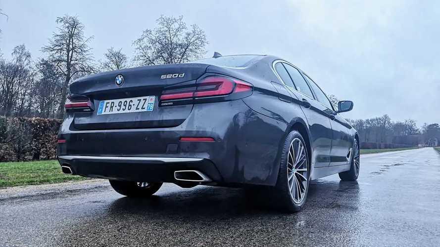 Essai BMW Série 5 restylée 2020 (520d Luxury Line)