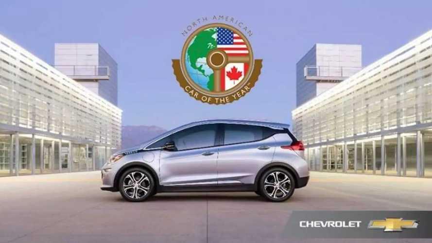 Chevrolet Bolt Kuzey Amerika Yılın Arabası Seçildi