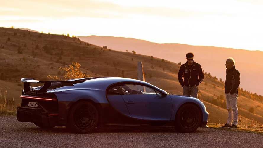 Enjoy The Bugatti Chiron Pur Sport In Some Breathtaking Scenery