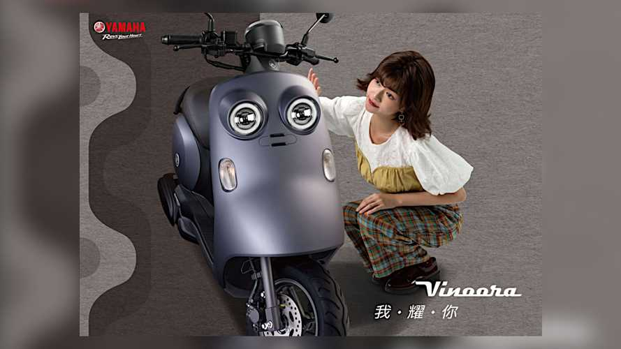 Yamaha Taiwan's Adorable Vinoora Scooter Has Its Eyes On Japan