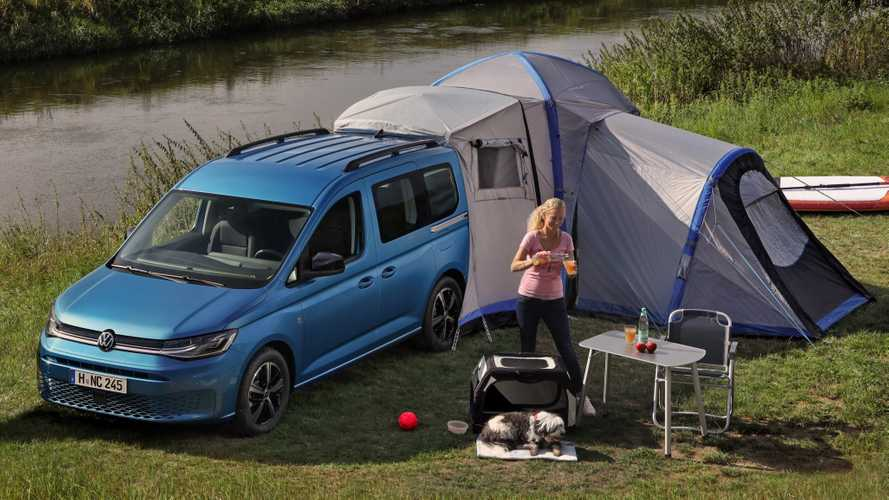 VW Caddy California (2021): Mini-Camper mit Miniküche