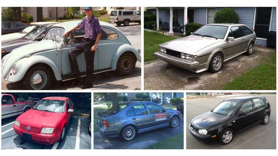 Conoce a este dueño de 42 Volkswagen: ver para creer...