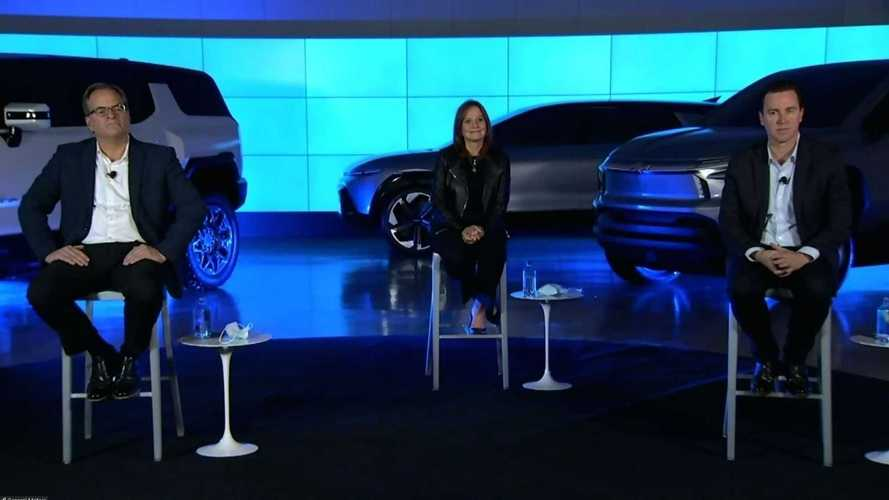 GM Teases Equinox-Sized Electric Crossover On Stage