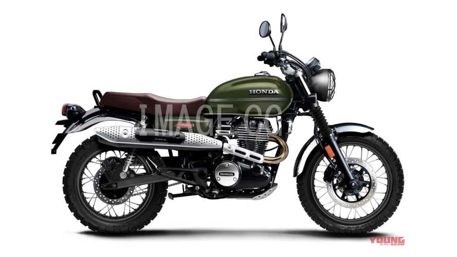 Is There A Honda CB350 Scrambler Coming Along With The Café?