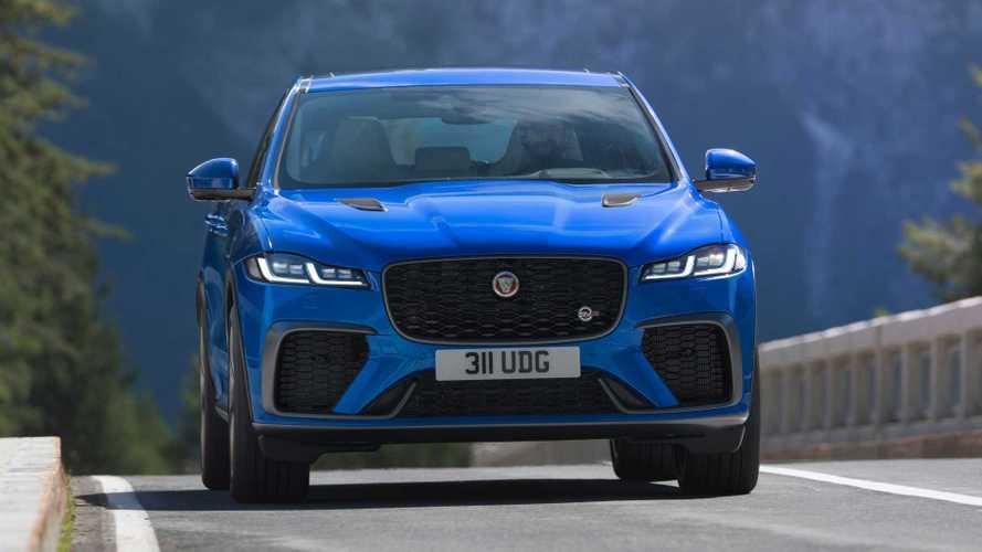 Jaguar F-Pace SVR restyling, la sportiva diventa più efficiente