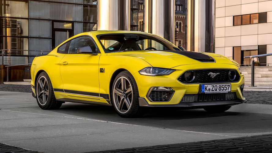 2021 Ford Mustang Mach 1 revealed for Europe with less power