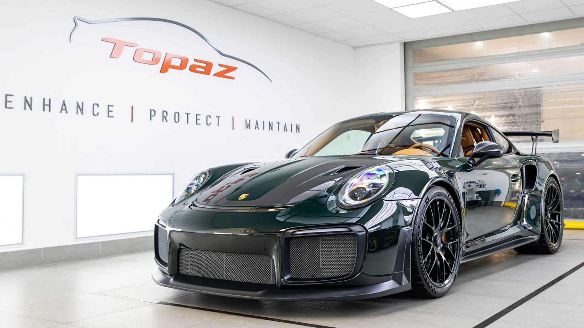 photo of $100,000 Porsche 911 GT2 RS Customization Will Make You Green With Envy image