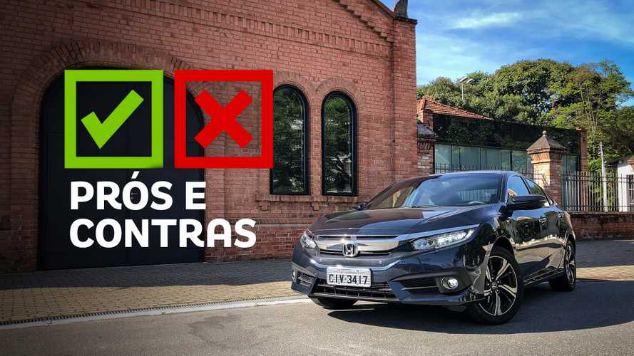 Honda Civic Touring 1.5 Turbo: Prós e Contras