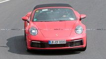 Porsche 911 Targa (992) Spy Photos