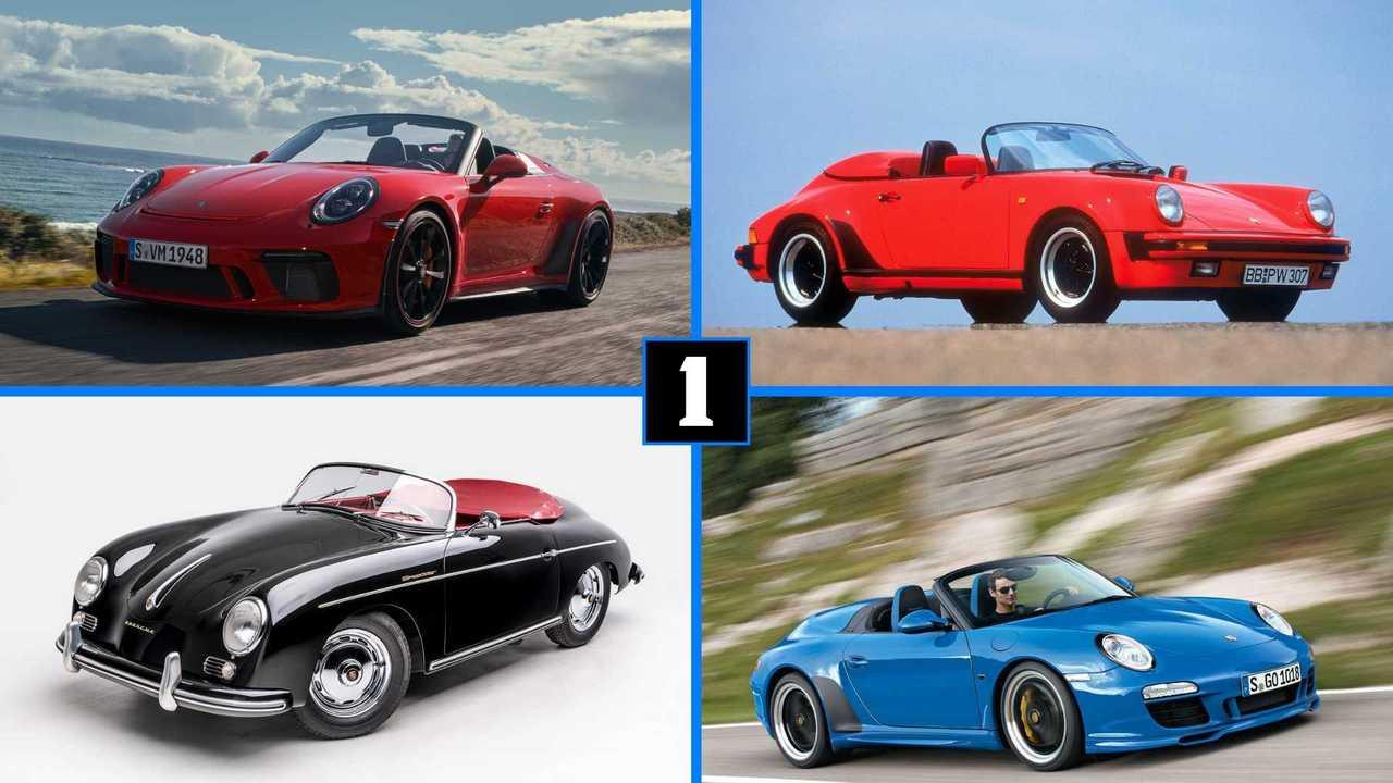 Porsche 911 Speedster Evolution Lead