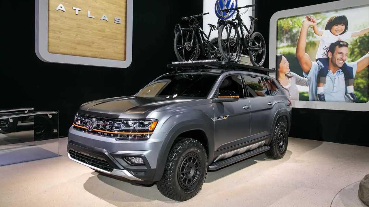 Volkswagen Atlas Basecamp Concept Live Photos