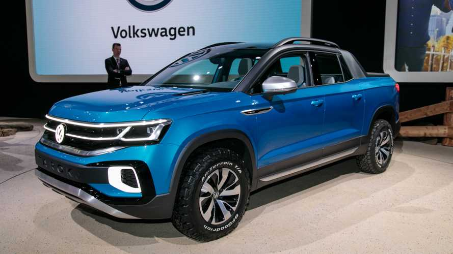 Volkswagen Tarok Concept Wants To Woo Truck Fans In New York