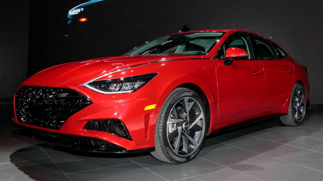 2020 Hyundai Sonata (U.S.) at the New York Auto Show