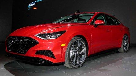 Новую Hyundai Sonata показали на автосалоне в Нью-Йорке