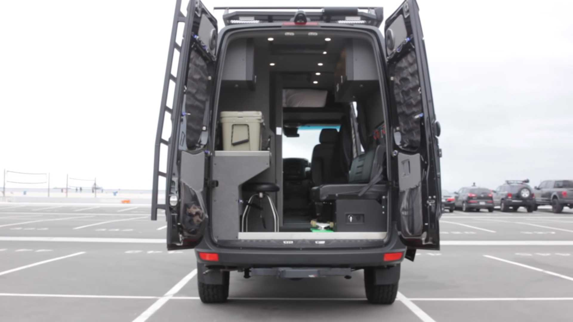 Man With A Van >> Wee Man From Jackass Enjoys Vanlife In His Sinister Mercedes Sprinter
