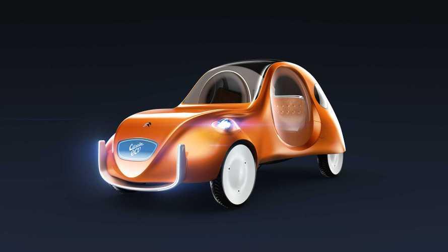 Citroën eCV - La 2CV du 21ème siècle imaginée !