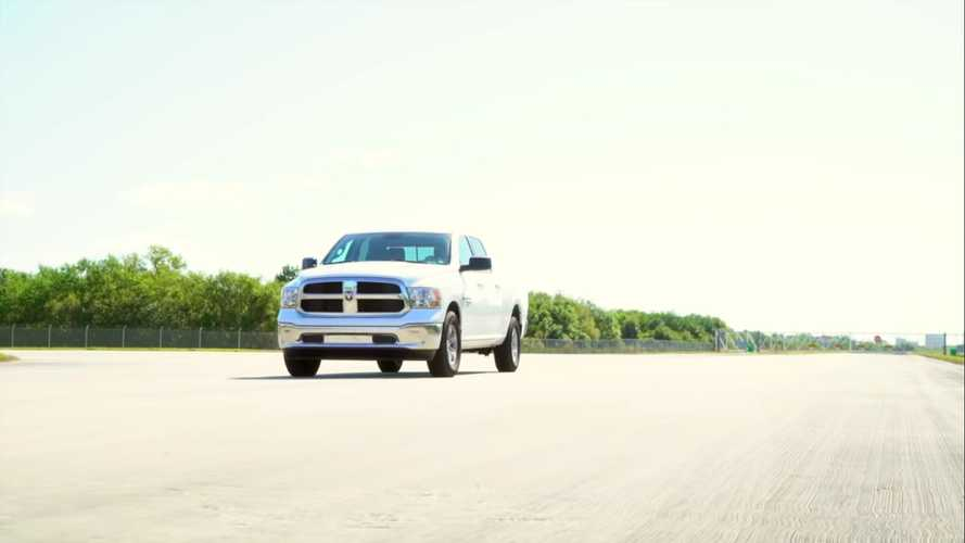 2019 Ram 1500 SLT Classic Goes For A Top Speed Run