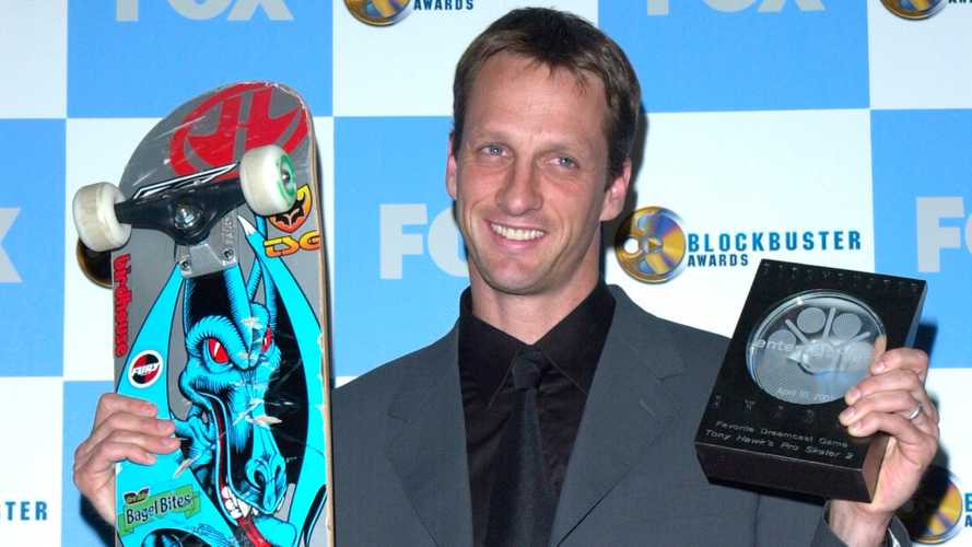 Skating star Tony Hawk is too famous to rent a car