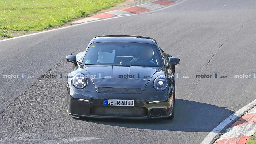 Photos espion - Porsche 911 GT3 Touring