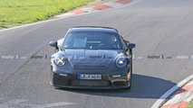 Porsche 911 GT3 Touring spy photos