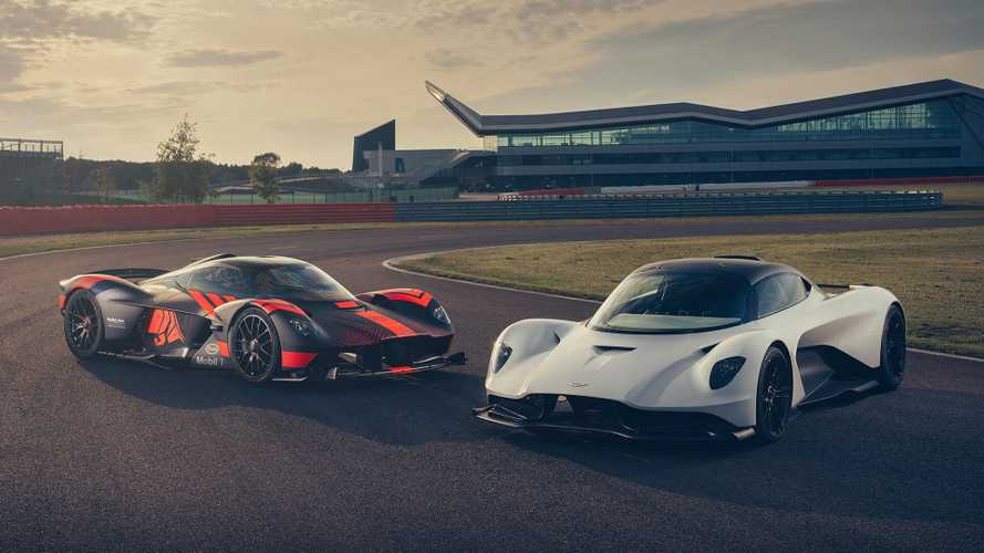 Aston Martin Valkyrie And Valhalla On Track