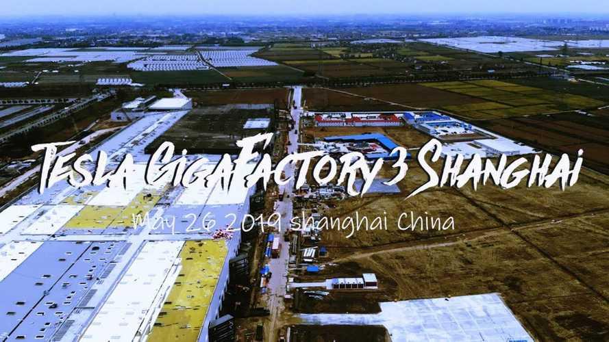 Tesla Gigafactory 3 Construction Progress May 26, 2019: Video