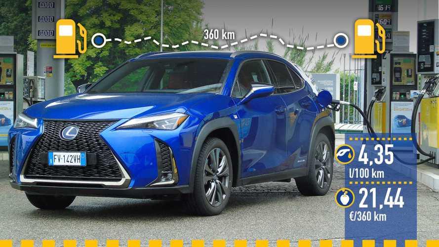 Lexus UX 250h 2019: prueba de consumo real