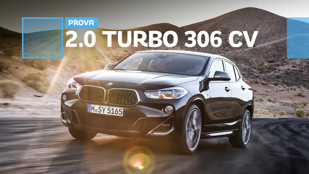 BMW X2 M35i, la prova