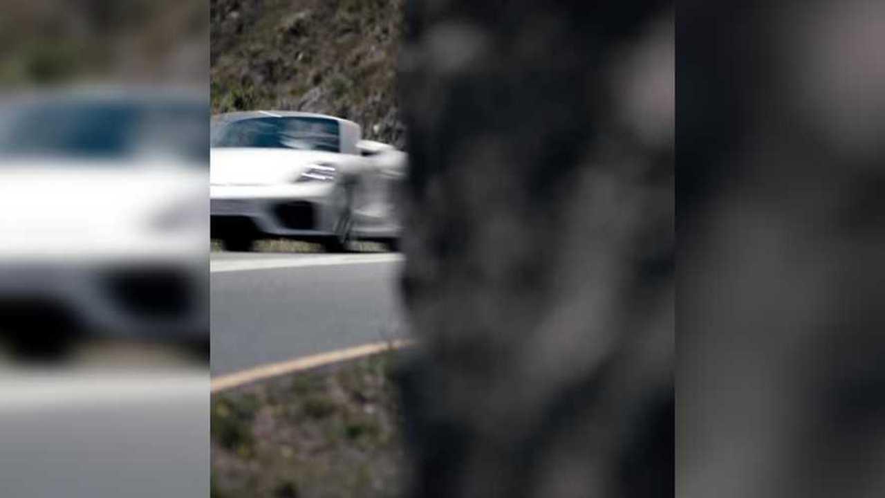 Teaser Porsche 718 Boxster Spyder