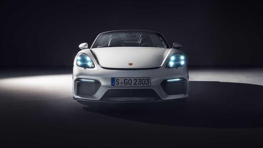 Porsche 718 Spyder 2019