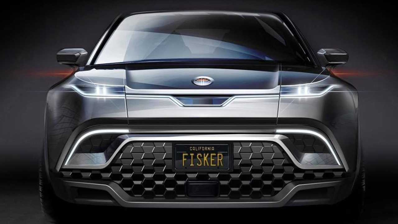 Fisker electric SUV teaser