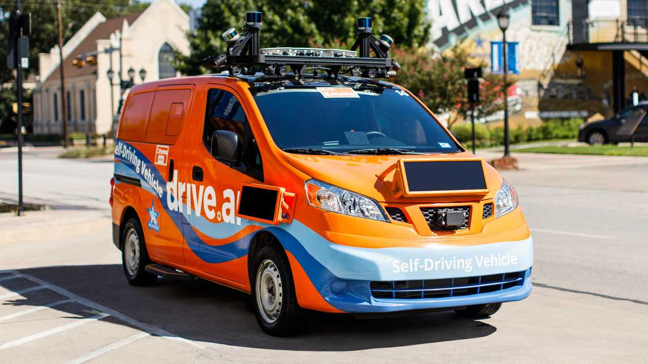 Drive.ai's self-driving Nissan NV200