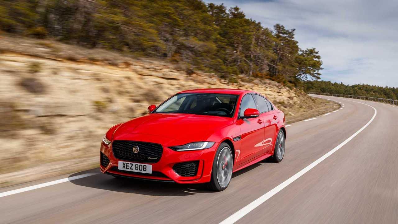 Test Jaguar XE Facelift 2019