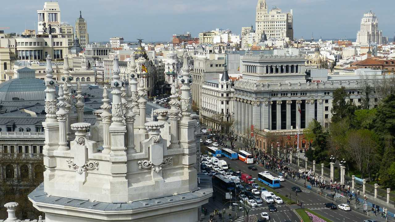 Madrid traffico