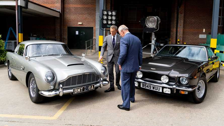Aston Martin confirms Bond 25 cars during Royal set visit