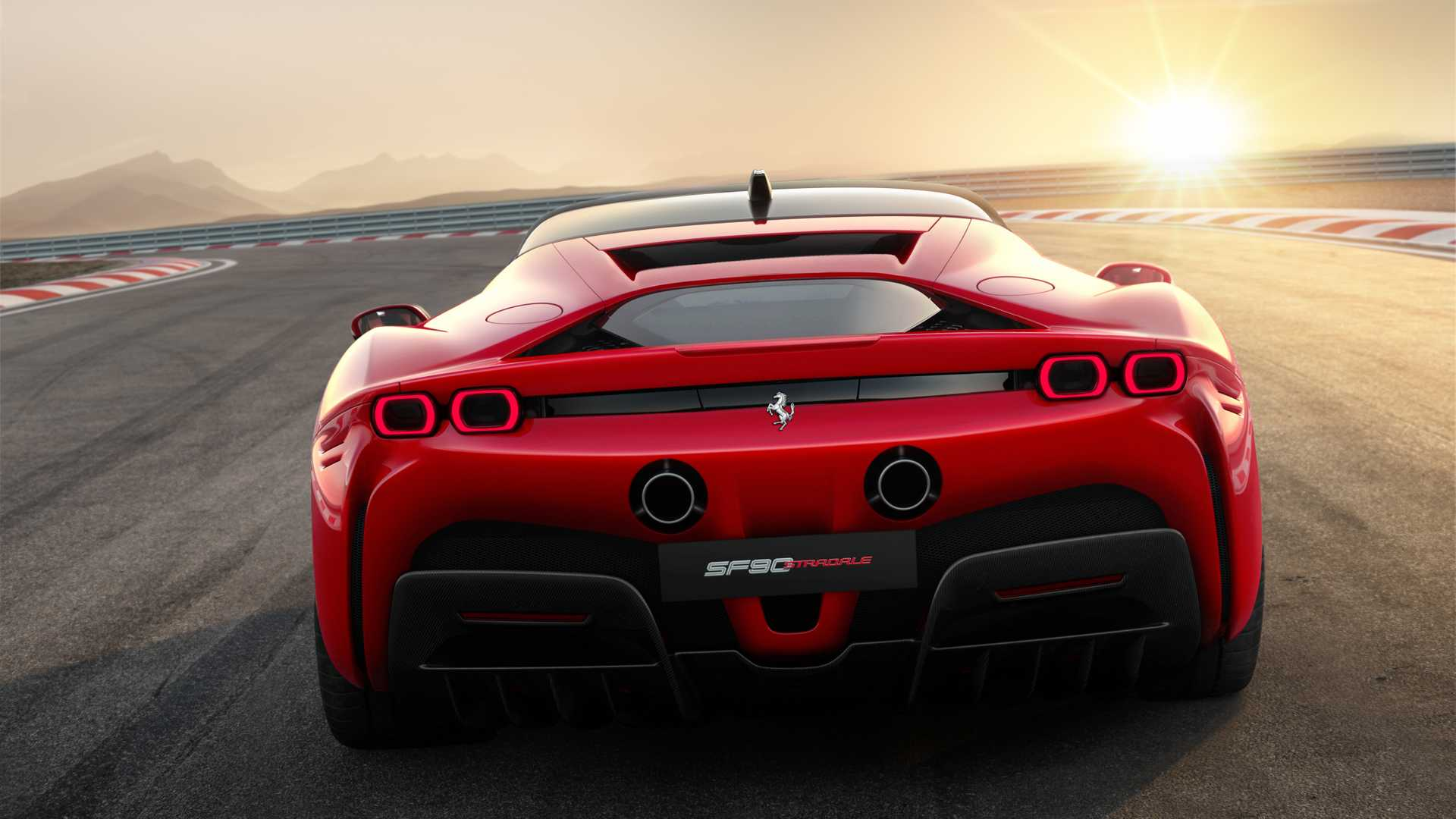 Ferrari Sf90 Stradale Supercarro Hibrido Plug In Surge Com 1 000 Cv