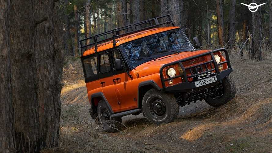 UAZ Hunter Expedition