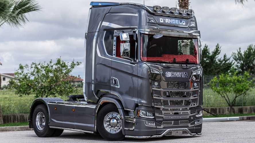 Scania S 650 Kinrok, la nuova visione del camion