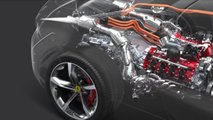 ferrari sf90 stradale engine video