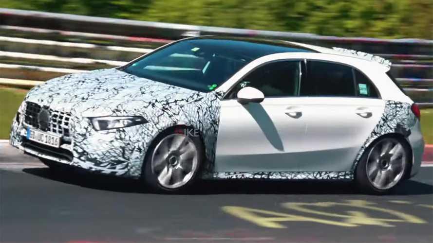 Mercedes-AMG послезавтра покажет A45 S и CLA 45 S