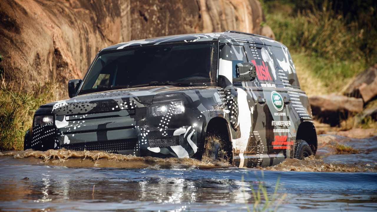 Land Rover Defender 2020 no Quênia
