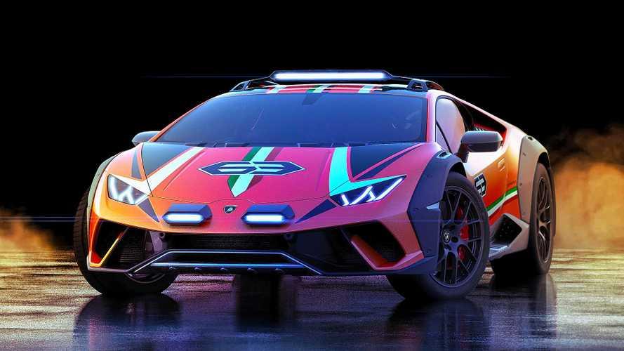 Lamborghini Huracán Sterrato Concept: 4x4-Wahnsinn