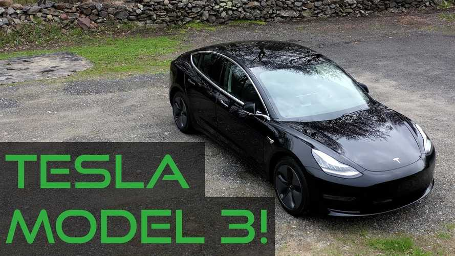 Gearhead Raves About New Tesla Model 3 & Friend Is In Awe