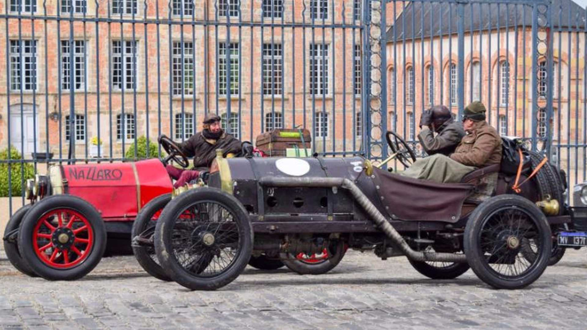Taking On The Fierce Montlhéry Revival In A 1913 Nazzaro