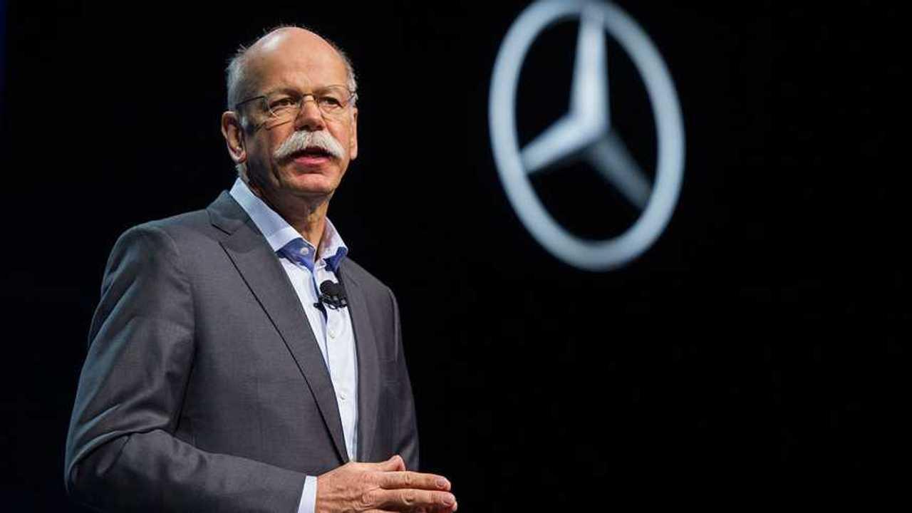 Daimler Grubu CEO'su Dieter Zetsche